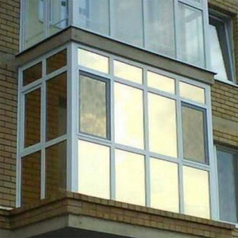 Картинка панорамный балкон Ижевск